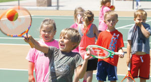 <p>Ludington's annual tennis camp at the Schoenherr Tennis Center on Tinkham Avenue is nearing its end, with skills and drills concluding Friday. Competition is next week.</p>