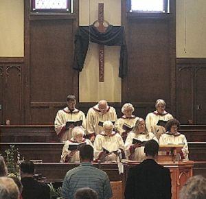Good Friday community worship