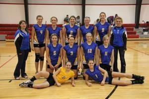 Fairview volleyball team
