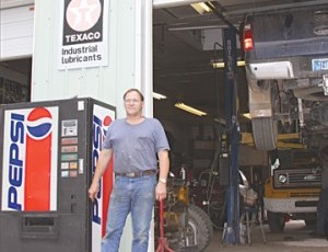<p></p><p>Brian Ligon fixes whatever his customers bring him at Town and Country Repair.</p>