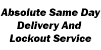 Absolute Same Day Delivery And Lockout Service