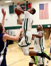 Heelan at West High basketball 2/6/15