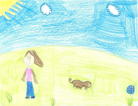 essay dog kids