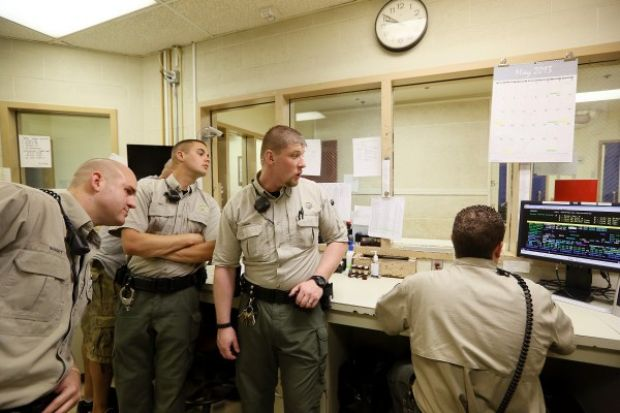 Photos a night in the woodbury county jail
