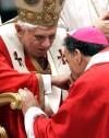 Daniel N. DiNardo, Pope Benedict XVI