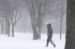 Storm to continue overnight; 5 inches of snow expected by morning