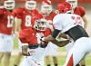 University of South Dakota football practice