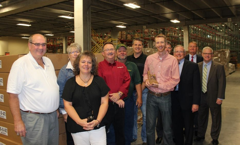 Bomgaars receives growing sioux city award business for Bomgaars