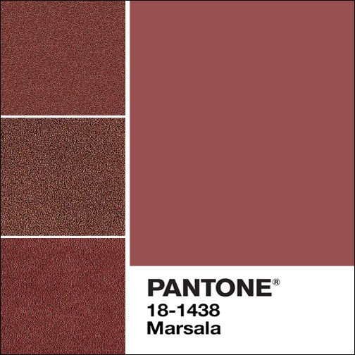 Pantone Just Announced Marsala As Their Color Of The Year