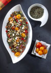 Lentils, rich in fiber and protein, great in a summer salad
