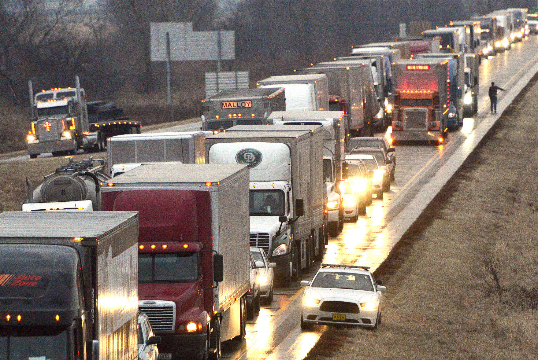 Photos: Icy conditions cause accidents; I-29 closure | Local news ...