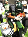 West vs West Des Moines football 100915