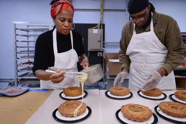 Mortgage Apple Cakes Recipe