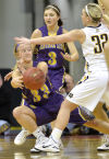 Photos: Iowa girls basketball tournament Monday, March 2