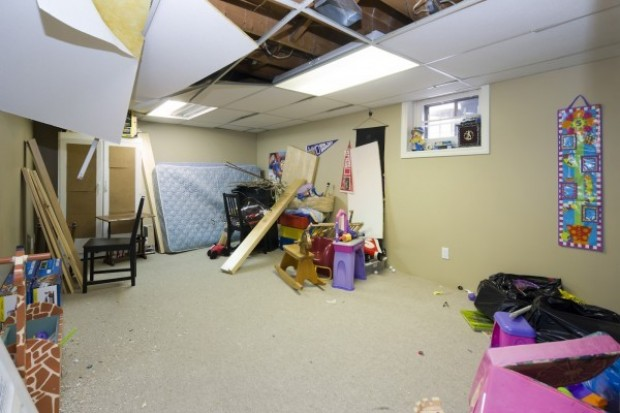 Teen's new bedroom in basement is fun, functional