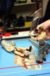 WWE wrestling trash can head