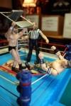 WWE wrestling chair smash