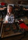 Van Buren County print shop owner restores antique presses