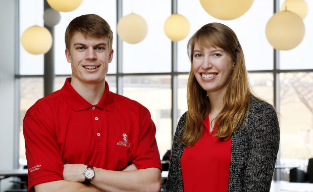 USD Dean's Ambassadors, Ellie Dailey, Kirby Nitzschke