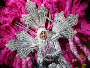 Photos: Big parade and Mardi Gras Festivale