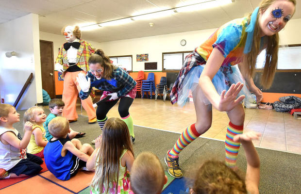 HORLYK: Morningside College students just clown around in class