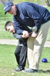 PHOTO: Preschoolers visit North Sioux City golf course