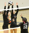 Volleyball East at West 101215