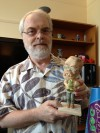 Ron and bobblehead