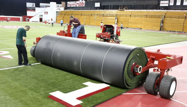DakotaDome football turf