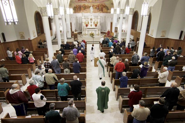 analysis of catholic worship service During the service hymns and even prayers may be sung in the roman catholic church, it is believed that worship of god and prayers are all performed along with the saints mary, jesus' mother, is one of the most important saints with whom they pray.