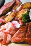 Did you know it is recommended that two of your meals each week contain seafood? Stop in this weekend for our Seafood Buffet!