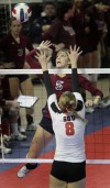 NAIA Volleyball Lee vs Southern Oregon