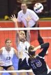 NAIA volleyball Rocky Mountain vs College of Idaho