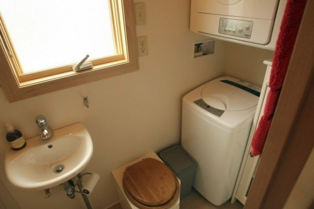 tiny house interior bathroom - Tiny House Interior Bathroom