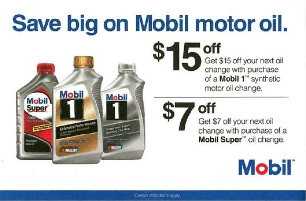 Coupons For Motor Oil 2015 Best Auto Reviews