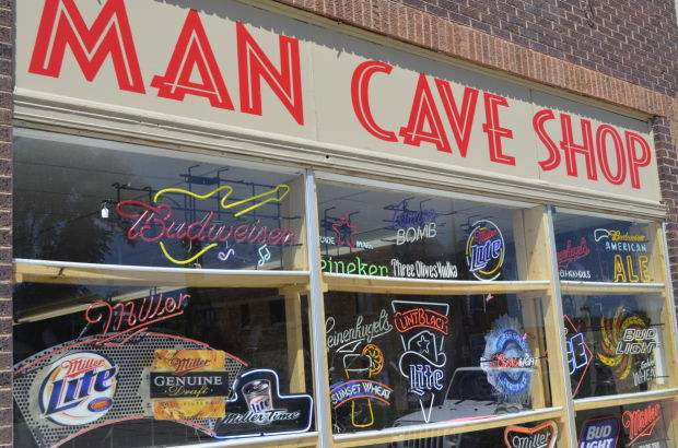 A Man Cave Store : It s a man world what every guy needs in his cave