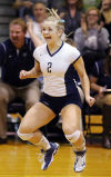 Photos: Carroll at Heelan volleyball