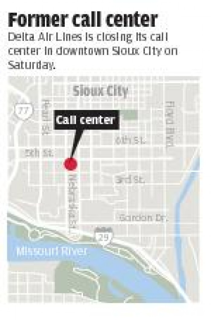 Workers scatter as Sioux City Delta center closes | Local Business ...