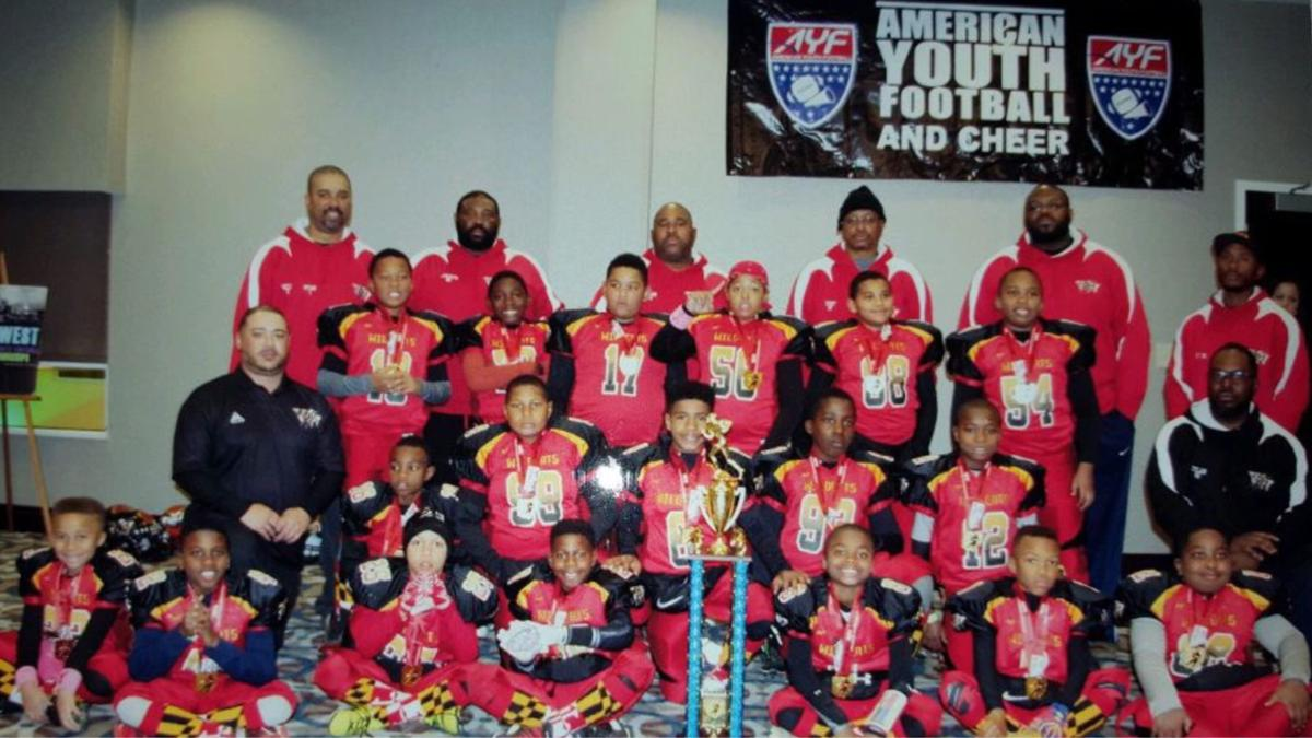 Wildcats 9-U football wins championship | Briefs ... Lebron 10 Championship Red