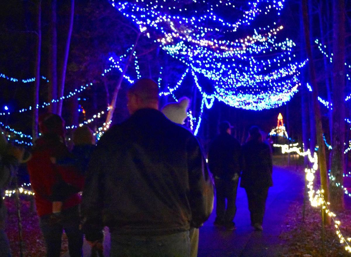 Annmarie Garden Lights Up The Holiday Nights Features
