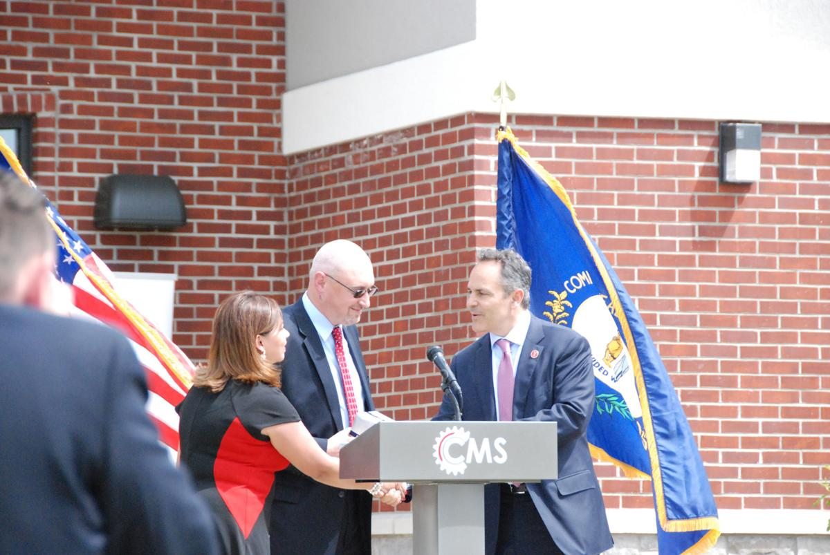 Governor on hand for CMS ribbon cutting