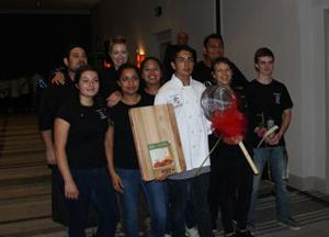 <p>Healdsburg High School students from the Culinary Arts program won the People's Choice Award at the 17th Annual Wine Country Chefs of Tomorrow fundraiser.</p><p></p>
