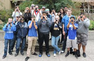 <p>Click! Cloverdale High School's new digital photography class has  doubled in size.</p>