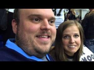 Newlyweds choose Hockeyville USA game over honeymoon