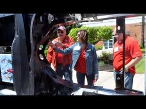 Molded Fibert Glass Company Celebration of General Motors Supplier of the Year Award