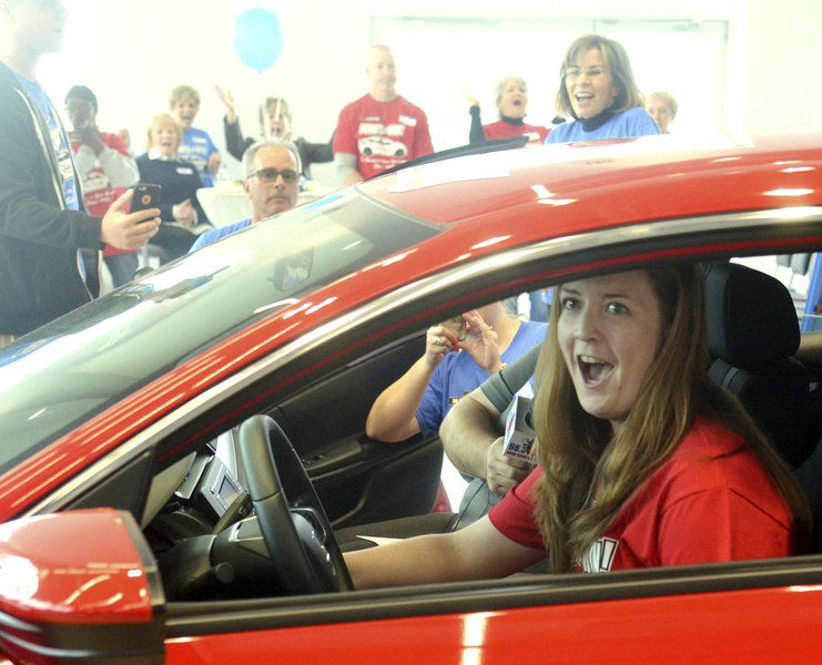 Cleveland woman will drive home the Nassief Auto Family Donate to Win car