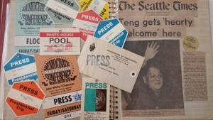Bill Powell's memorabilia