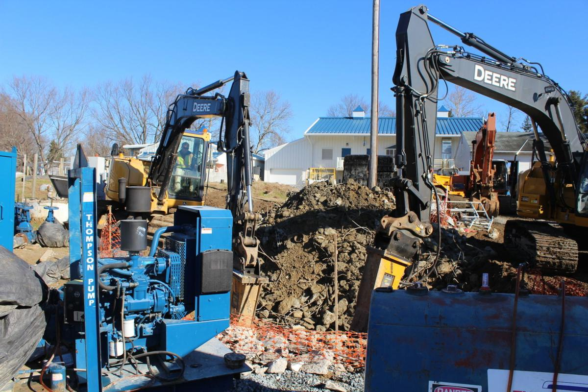Water Treatment Plant Demolition : Old sewage plant coming down in queenstown local