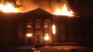 Historic Tome School fire