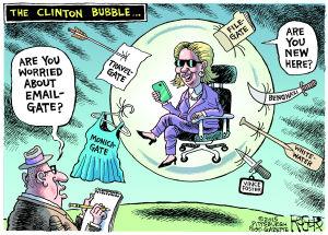 Clinton Bubble